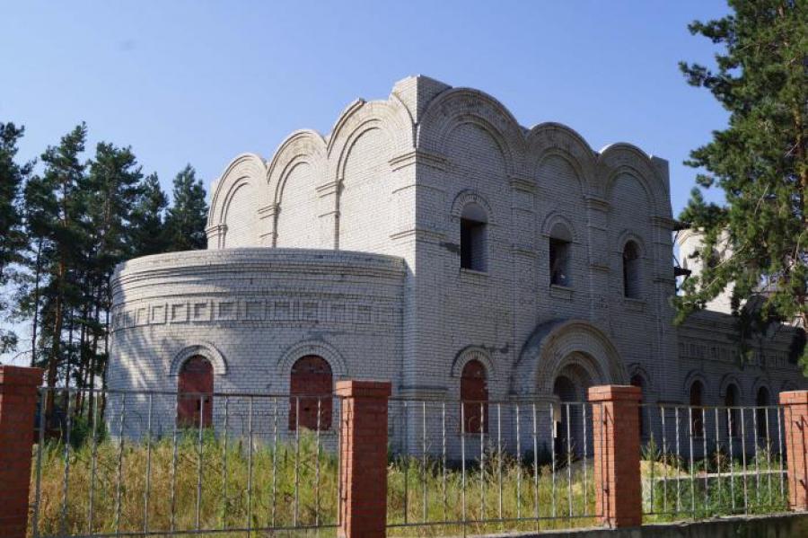 Храм на территории Свято-Троицкой церкви к будущей весне обретет уникальный купол