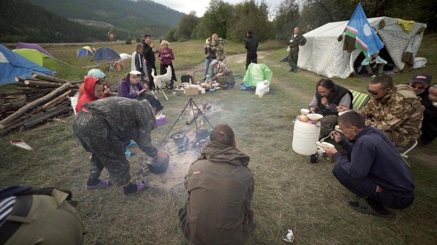 Необычная история якутского шамана Габышева, идущего в Москву (и не дошедшего)