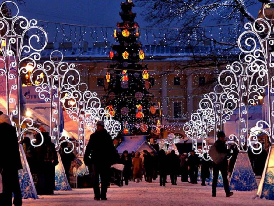 Подсветите Сызрань новогодними огнями!